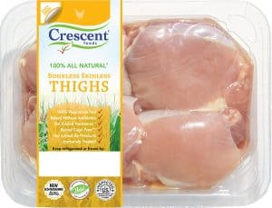 Crescent Chicken Boneless Skinless Thighs