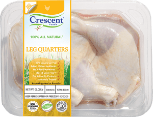 Crescent Chicken Leg Quarters