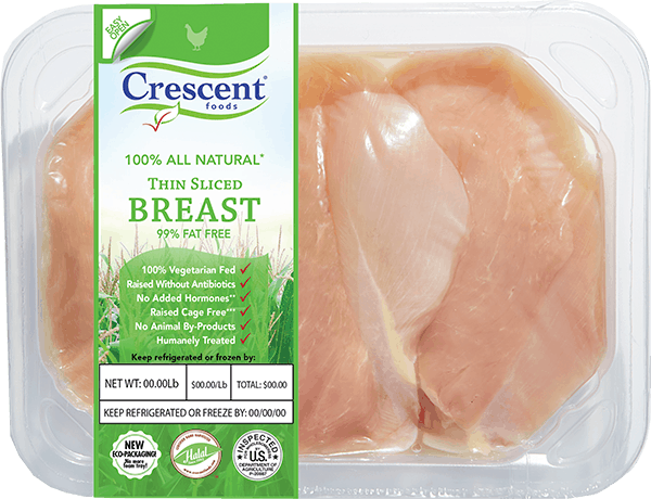 Crescent Thin Sliced Breast