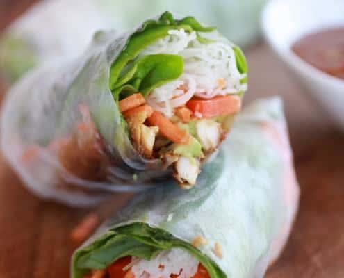 Avocado-and-Chicken-Spring-Rolls