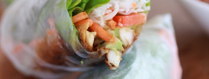 Avocado-and-Chicken-Spring-Rolls