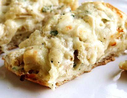 Chicken Alfredo Melts
