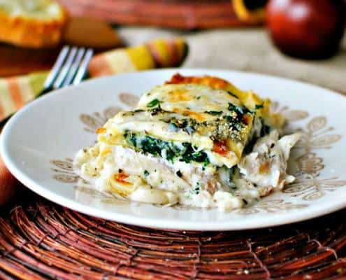 Chicken Lasagna Recipe