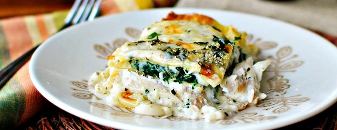 White Cheese Amp Chicken Lasagna Crescent Foods Premium All Natural Halal Chicken Amp Beef Products