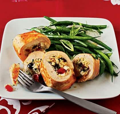 Couscous Stuffed Chicken