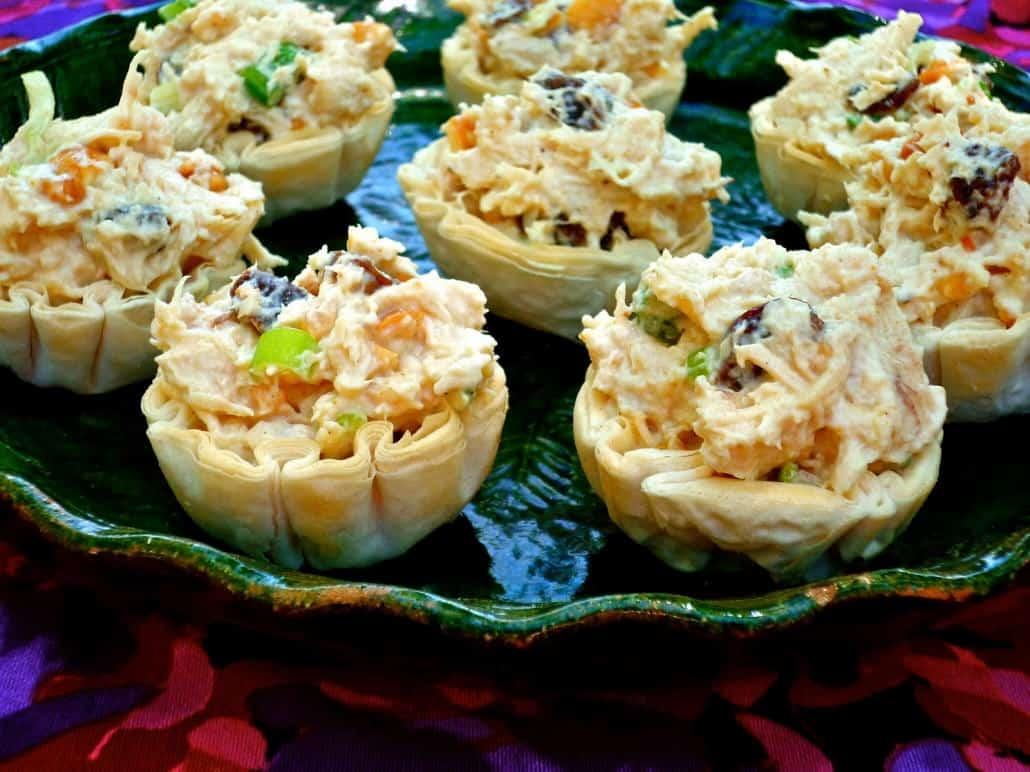1-2-3 Dinner: Curry Chicken Salad