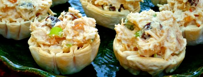 Curry Chicken Salad Cups