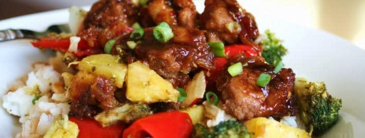Pineapple Chicken Teryaki