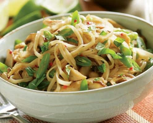 Stir-Fried Noodles with Chicken