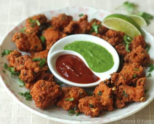 Chicken-pakoras