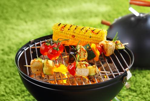 colorful grilling