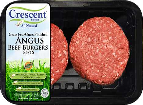 Angus Beef Burgers 85/15 - Crescent Foods Premium All