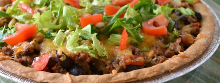 Ground Beef Taco Pie