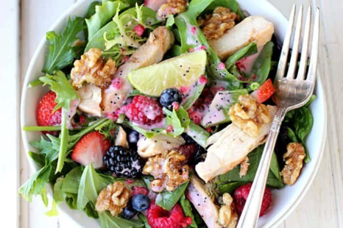 Crescent Foods Chicken and Berries Salad