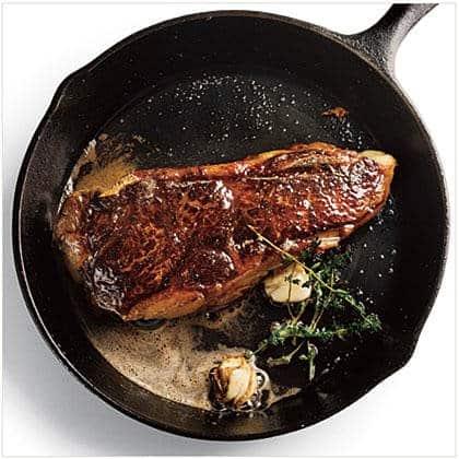 Pan Seared Strip Steak Crescent Foods Premium All