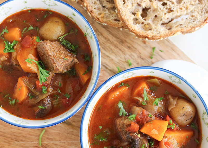 Flavor packed Beef Stew