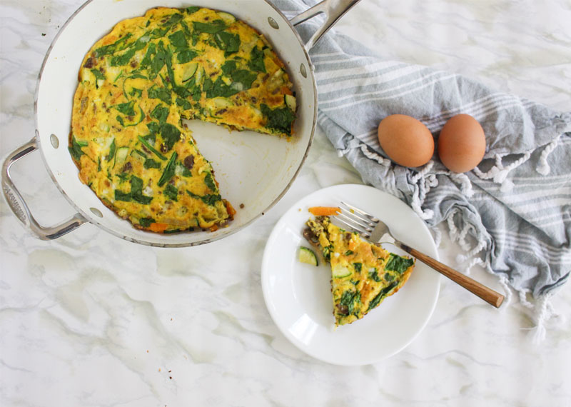 Meat and Egg Frittata