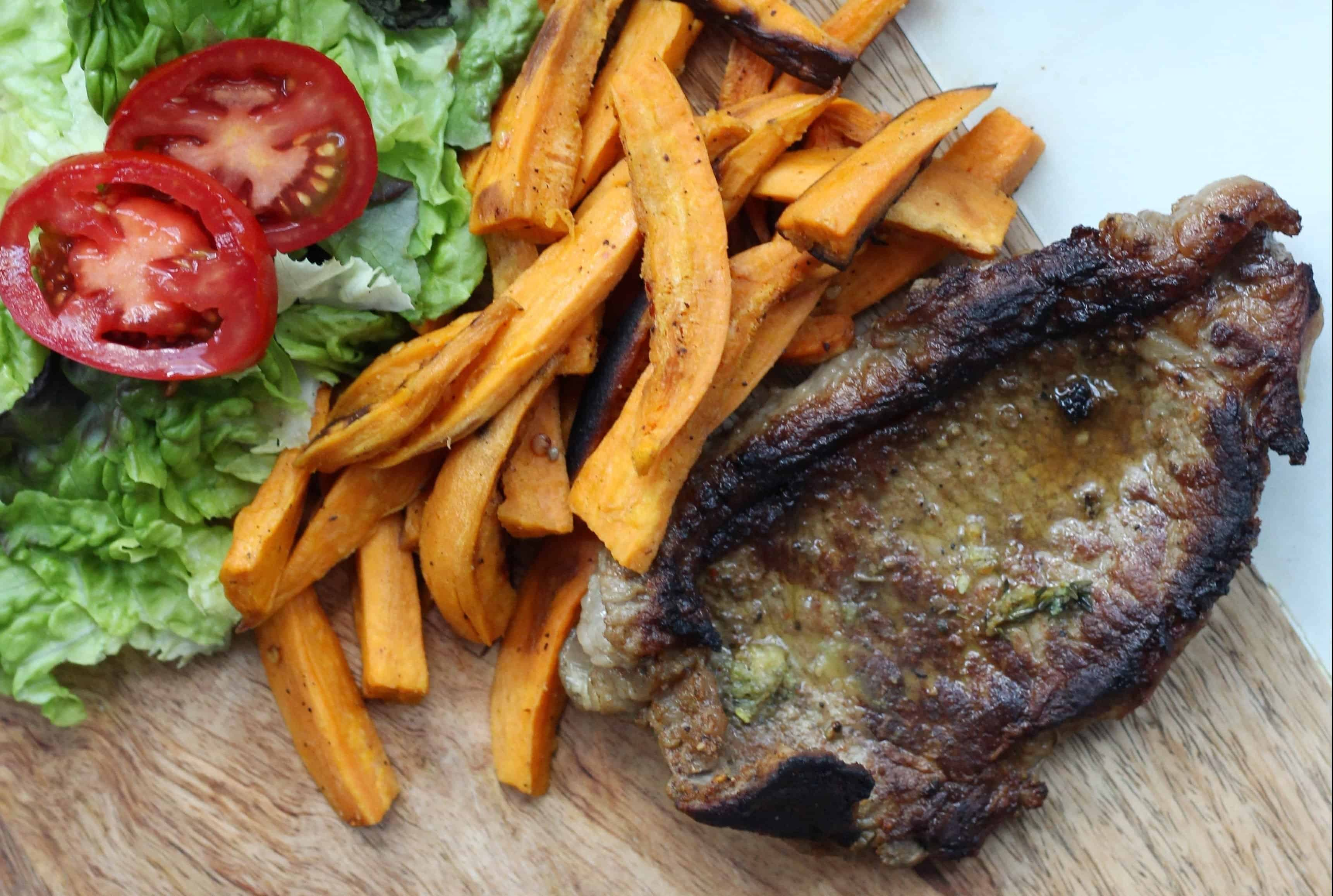14- Steak and sweet potato fries-2
