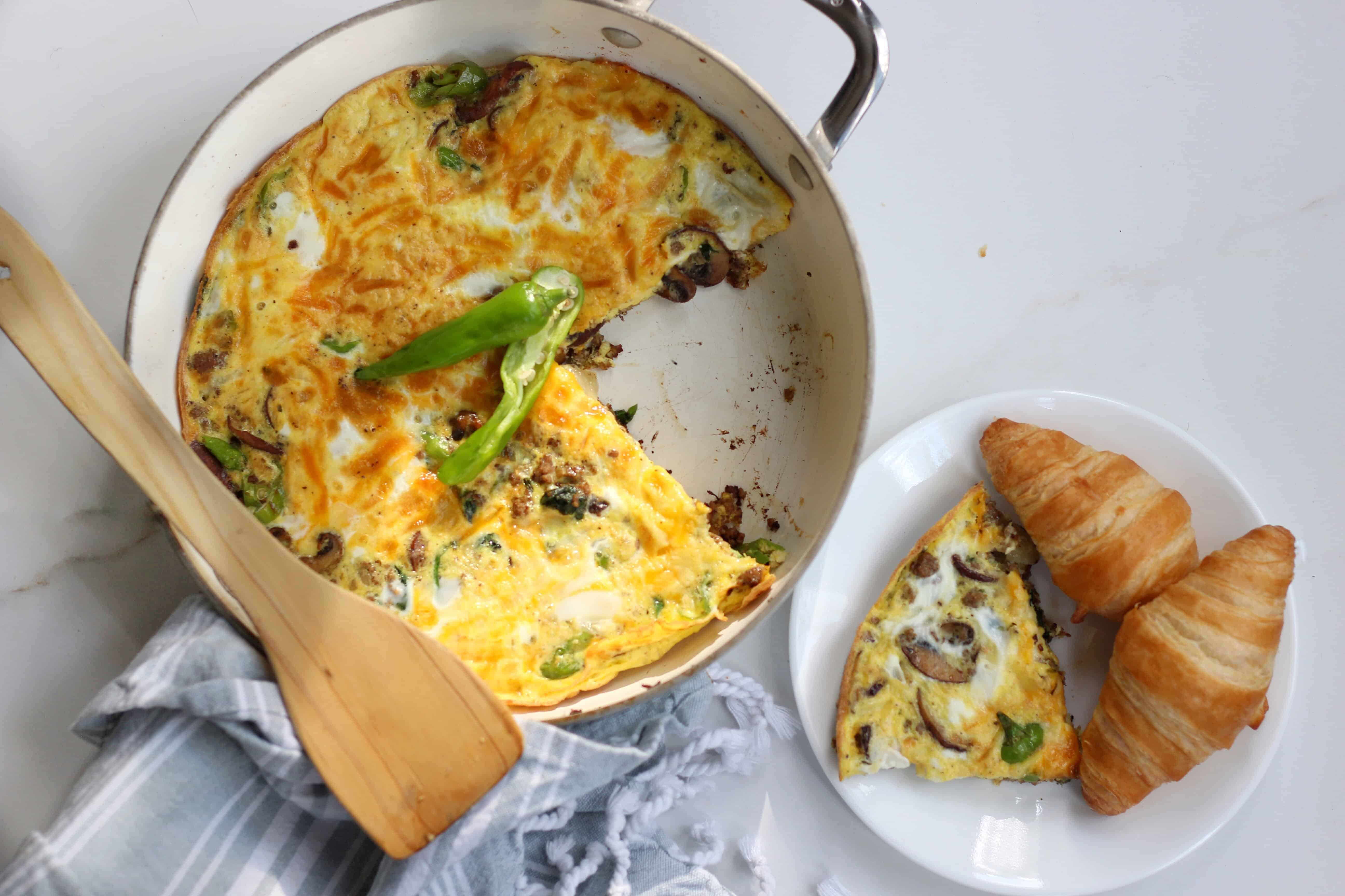 16-Mushroom and Pepper Omelette-1