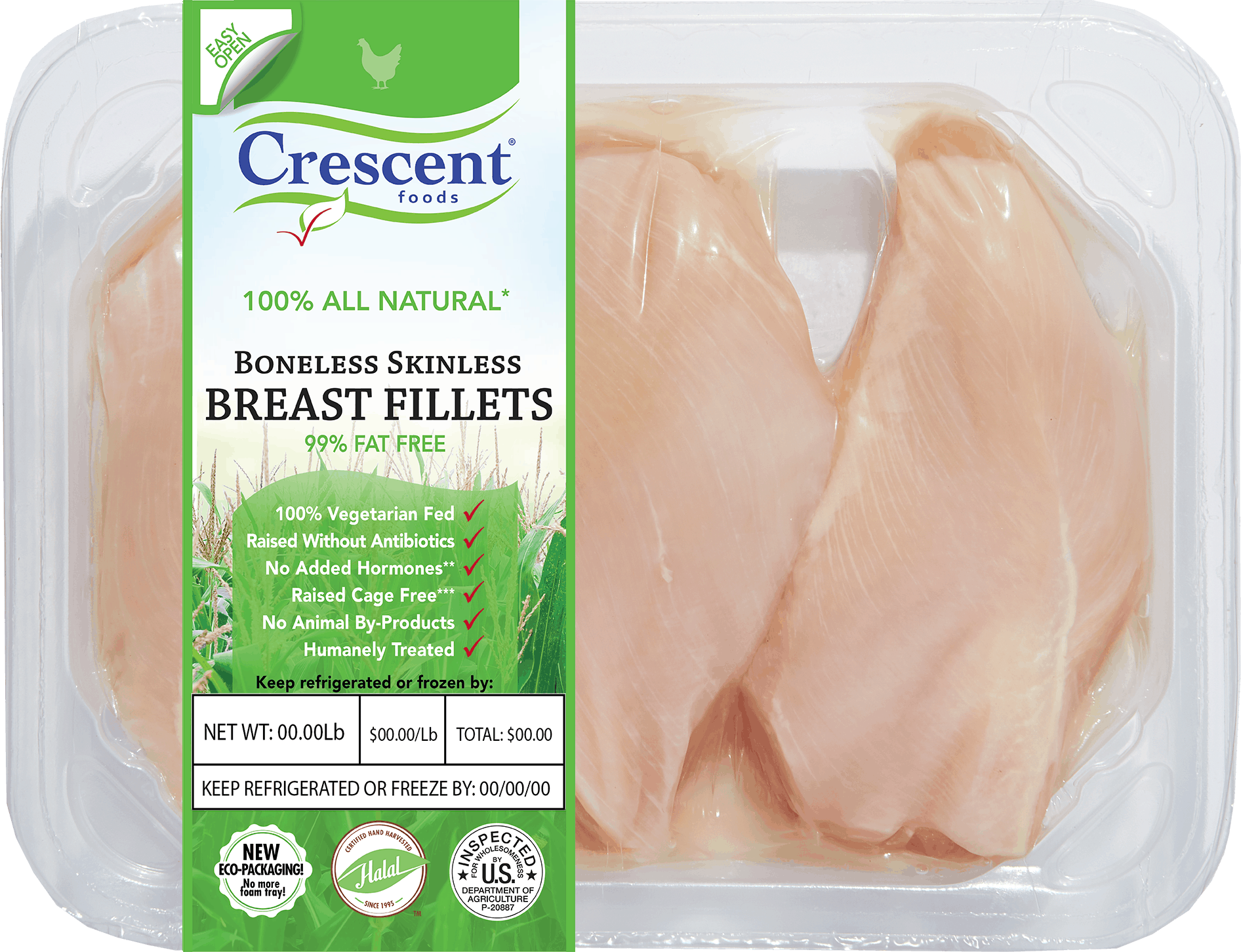 Breast Fillets - tray V4