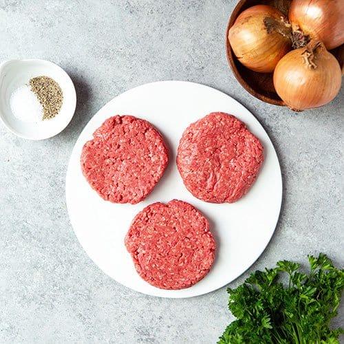 Ground Beef Burger Patties