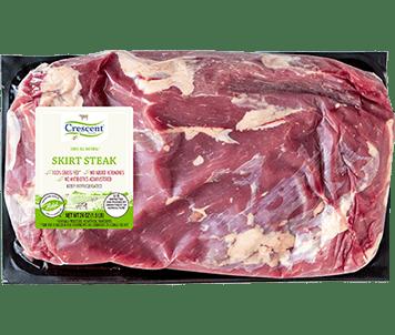 Crescent Foods Premium Halal Hand-Cut™ Skirt Steak