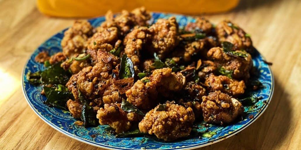 Spicy Popcorn Chicken