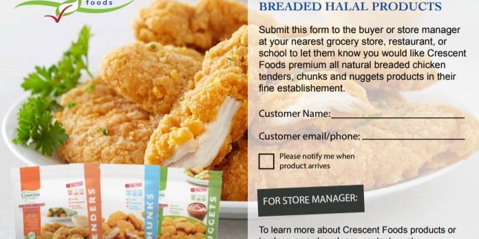 Crescent Halal Chicken Now At a Walmart Near You! - Crescent