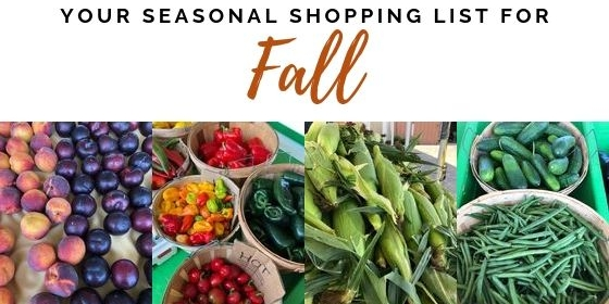 Fall Seasonal Shopping